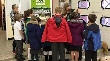 School children from Ely learnt all about safety at the Schools Safety Zone Challenge at Ely fire st