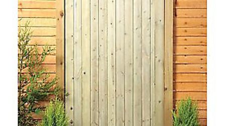 Wickes £75.99 gate ready for Back Hill home, Elky