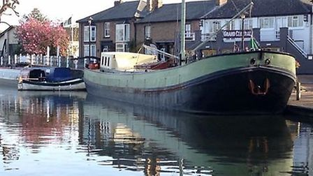Hotel Barge Waternimf could be opening for riverside retreats in Ely soon