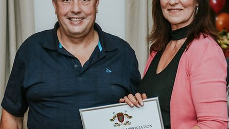 Fostering awards in Fenland Debbie and Frank Croxford