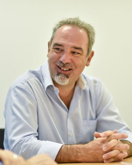 Mark Reeve, chairman of the Greater Cambridge and Greater Peterborough LEP