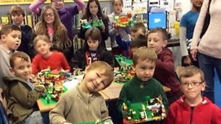 First ever Lego Club at March Library is a success