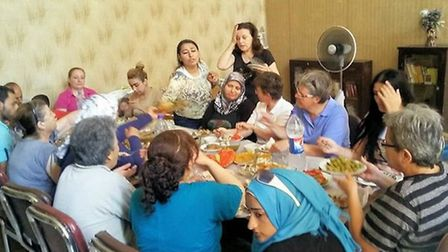 Nuns help to feed families in war torn Aleppo. Their work has inspired fund raising in March