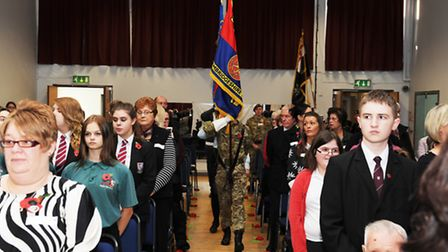 Cromwell Community College Service of Remembrance