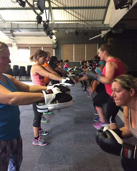 Dawn Lamb Fitness bootcamp in Ely. Dawn is hoping to open a new fitness hub in the city centre