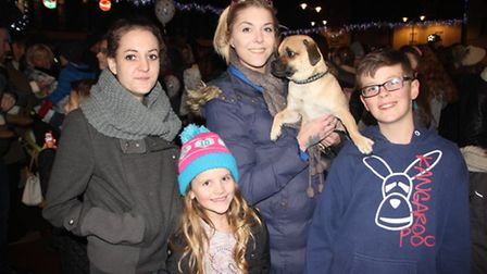 Ely Christmas lights switch-on 2016