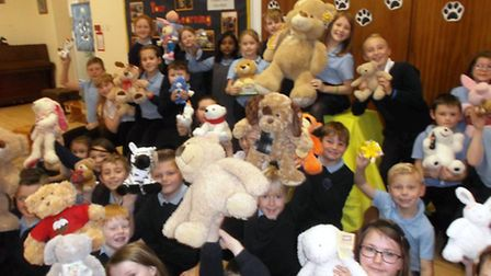 Cavalry School take part in Children In Need day