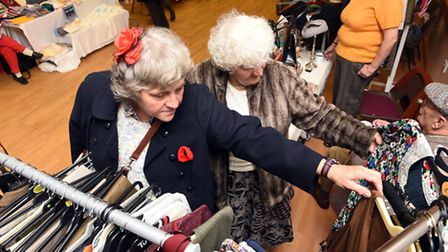 Villagers dance the night away at Doddington 1940s event.