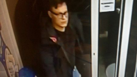 Do you recognise this man? Police would like to speak to him in connection with an incident of fraud