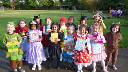 Book week at King's Ely Acremont.