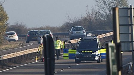 A young woman has died following a fatal road traffic collision on the A11 in Red Lodge.