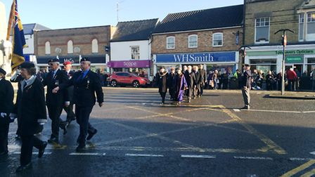 Armistice Day, March, Cambs