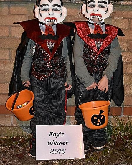 Brothers Luke and Riley Clarke shared the 'best boy' award.