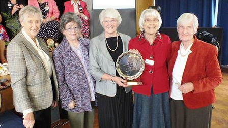 Dame Stella Rimington was a guest speaker at The Isle of Ely Federation FWI's October meeting.
