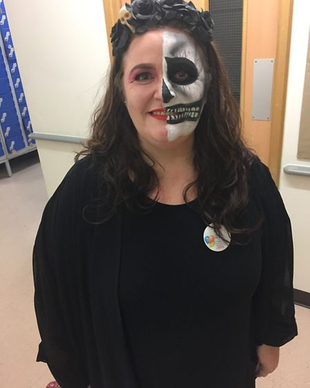 Staff at Tesco in March helped raise £270 by dressing in their spookiest outfits on Halloween.