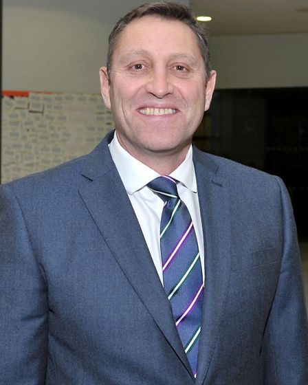 Jason Wing Principal of Neale Wade Academy, March. Picture: Steve Williams.