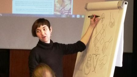 people in March enjoyed a graphic novel workshop led by Lincoln-based illustrator and comic artist J