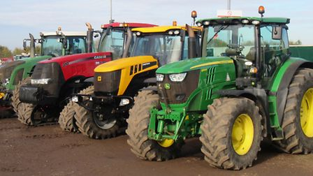 Cheffins sold £3.5million worth of second-hand machinery at an auction in Sutton.