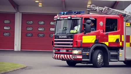 Shed fire spreads to neighbouring house in Robingoodfellows Lane, March