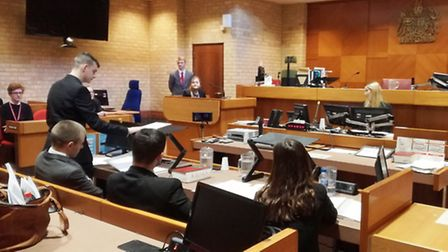 Neale-Wade sixth formers become barristers during competition