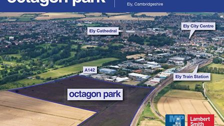 Brochure launching the Octagon at a time when Tesco was lined up as the anchor store