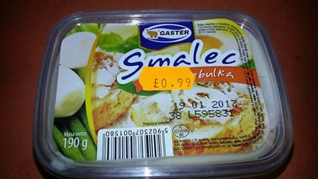 Food safety warning issued for Polish food Gaster Smalec which is thought to contain listeria