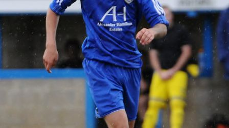 Takeley FC's Charlie Cole. Picture by Jamie Pluck