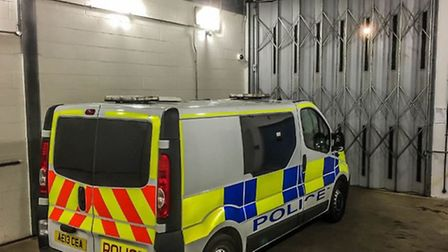 March man arrested on suspicion of common assault after 'disturbance'.