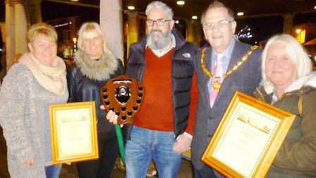 Whittlesey Business Forum Christmas window competition
