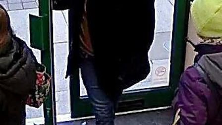 Police would like to speak to the man in this CCTV image in connection with a theft in Ely.