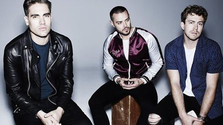 Busted are at the Cambridge Corn Exchange in January.
