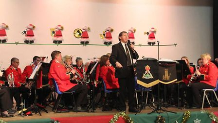The City of Ely Military Band gave a sell out Christmas Concert on Sunday (PHOTO: Mike Rouse)