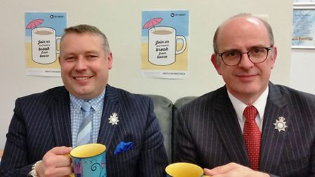 Police and Crime Commissioner, Jason Ablewhite and Deputy Police and Crime Commissioner, Andy Coles