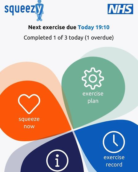 Squeezy app is encouraging people to do their pelvic floor exercises