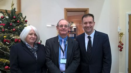 Iain Smith retires from Middle Level Commissioners. he is replaced by David Thomas and Lorna McShane