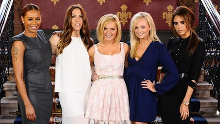 The Spice Girls. Photo: Ian West/PA Wire