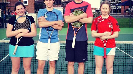 The University of Chester Touchtennis team.