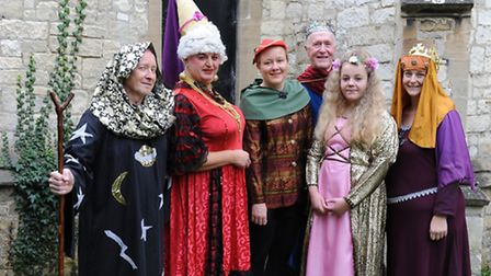 The MADAOS cast of Sleeping Beauty.