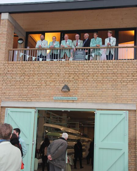 Cambridge University Boat Club officially opened their new boat house in Ely last weekend. Picture: