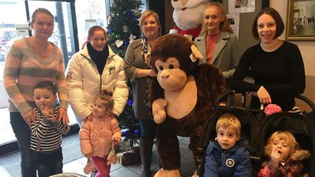 Paninis Coffee Shop in March is raising money for Little Miracles through a charity raffle.