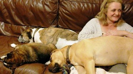 Lisa Moore is collecting for the homeless and their dogs this winter