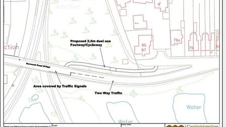 What's proposed for Norwood Road, March