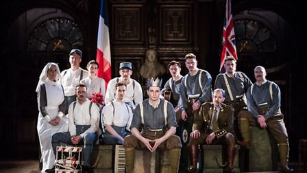 Antic Dispositions production of Shakespeares classic, Henry V, is coming to Peterborough and Ely in