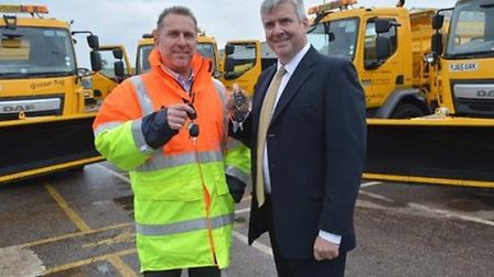Cambridgeshire County Council gritters
