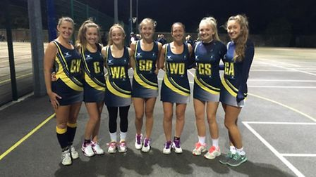 Dunmow Crests Netball Club's Academy side