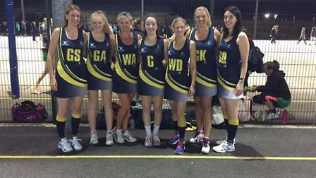 Dunmow Crests Netball Club's Whites