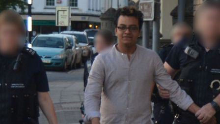 Al Amin, one of four workers at Spice Bank, March, detained by Home Office Immigration Enforcement T