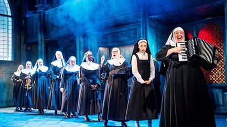 The cast of 'Sister Act'