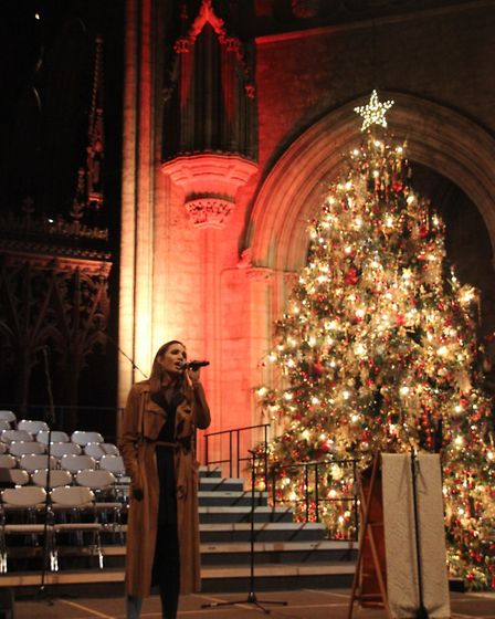 Laura Wrigth performed at Ely Cathedral