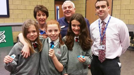 Pupils at Ely College were offered an insight into science, technology, engineering and maths career